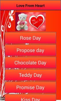 Valentine Love Week poster
