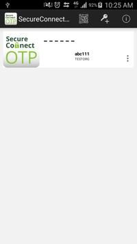 SecureConnect OTP screenshot 1