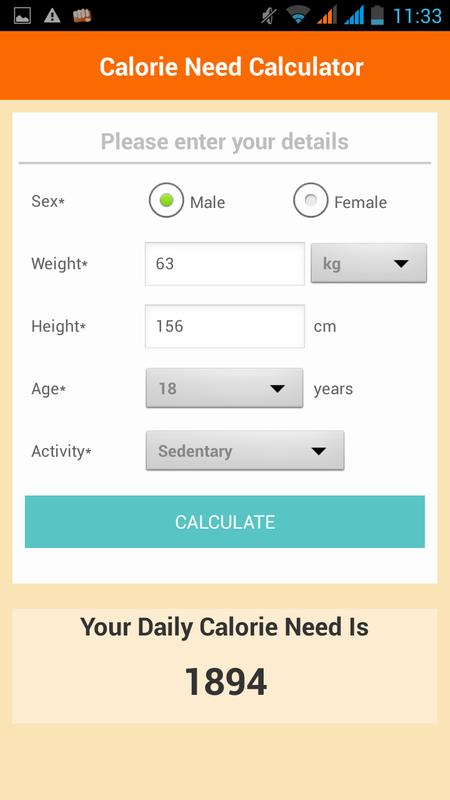 Indian food calorie chart download.