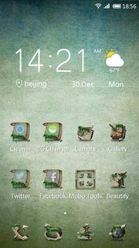 Stone Storm 91 Launcher Theme poster