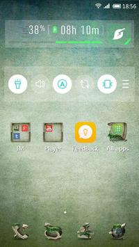 Stone Storm 91 Launcher Theme apk screenshot