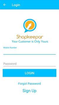 Shopkeeper App poster