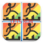 Lets Run with Stickman icon