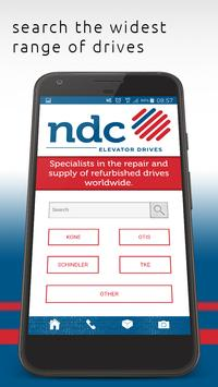NDC Elevator Drives poster