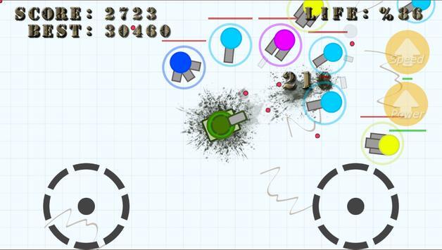 Diep Tank War - fun .IO game poster