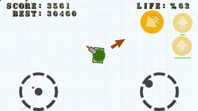 Diep Tank War - fun .IO game apk screenshot