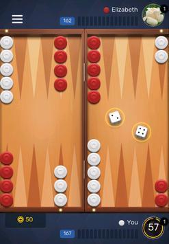 Free Backgammon Go: Best online dice & board games screenshot 13