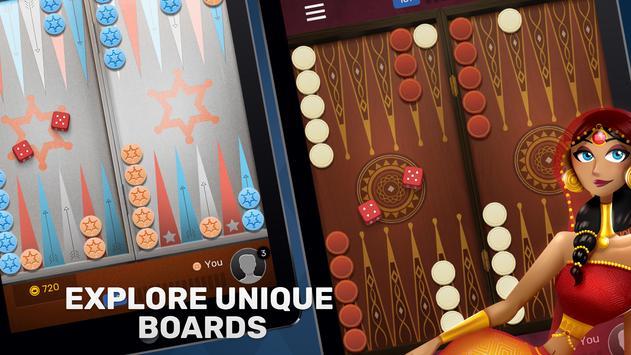 Free Backgammon Go: Best online dice & board games screenshot 8