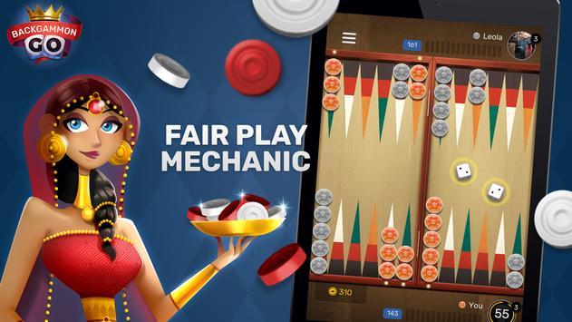 Free Backgammon Go: Best online dice & board games screenshot 9