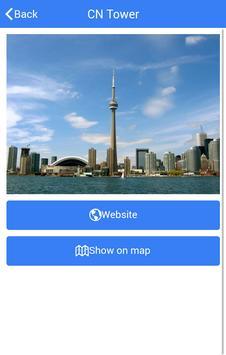 The Toronto Tour Guide apk screenshot