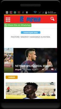 Magazeti na Blogs za Michezo Tz screenshot 1