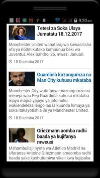 Magazeti na Blogs za Michezo Tz screenshot 23