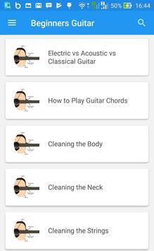 Beginners Guitar apk screenshot