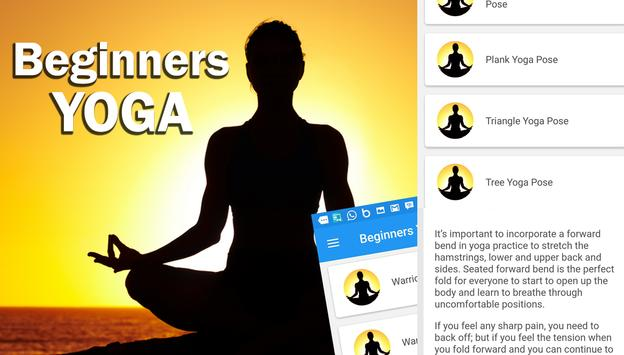 Beginners Yoga poster