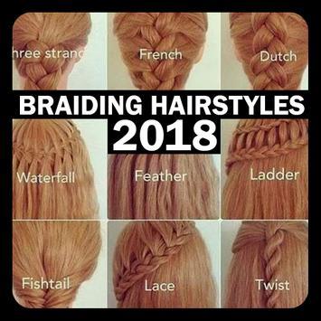 Braiding Hairstyles 2018 poster