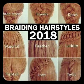 Braiding Hairstyles 2018 poster