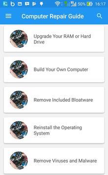 Computer Repair Guide apk screenshot