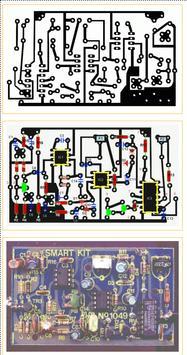 Electronic Circuit Diagrams poster