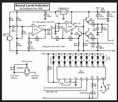 Electronic Circuit Diagrams screenshot 1