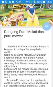 Kumpulan Cerita Dongeng Putri screenshot 5