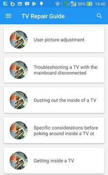 TV Repair Guide screenshot 5