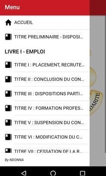 Code du travail Guinéen screenshot 1