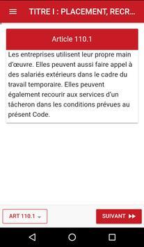 Code du travail Guinéen screenshot 2