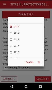 Code du travail Guinéen screenshot 3