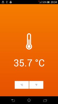 Thermometer - Room Temperature poster