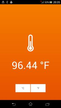 Thermometer - Room Temperature apk screenshot