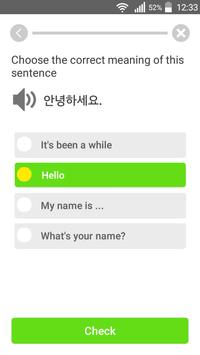 Learn Korean Communication apk screenshot