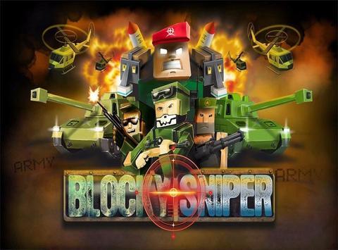 Blocky Sniper poster
