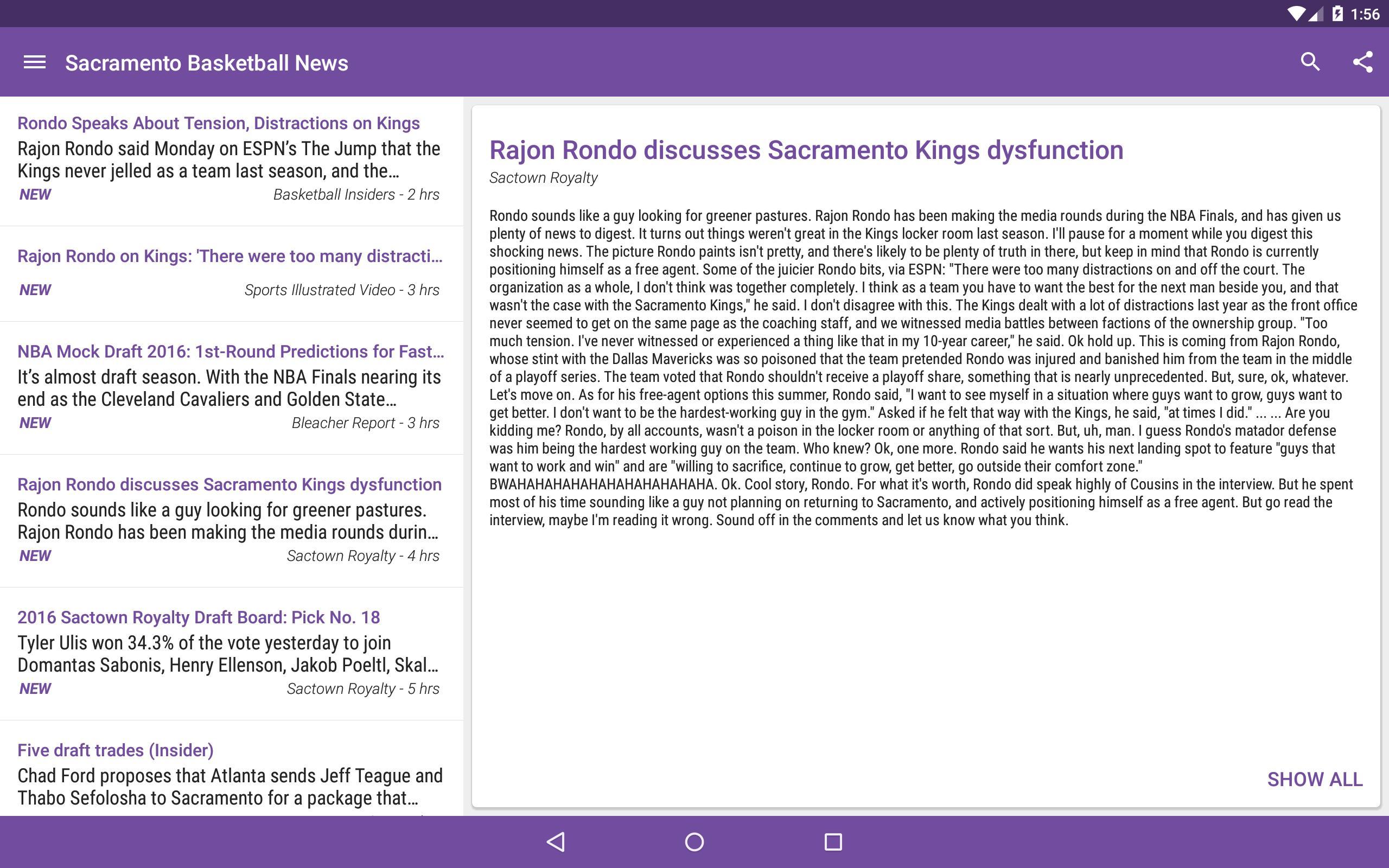 Sacramento Basketball News for Android - APK Download