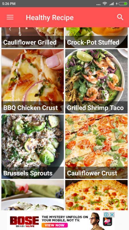 Healthy food recipes descarga apk gratis comer y beber aplicacin healthy food recipes poster forumfinder Images