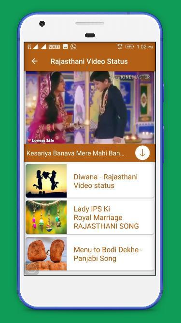 Rajasthani Video Status - Marwadi Status for Android - APK