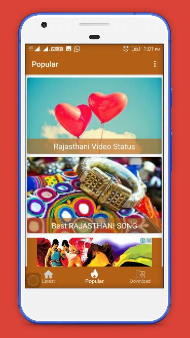Rajasthani Video Status - Marwadi Status for Android - APK