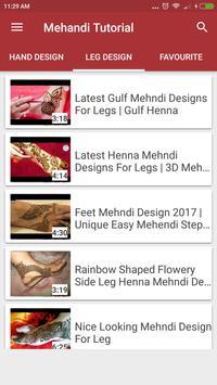Latest Mehndi Design Tutorial - 2018 screenshot 1
