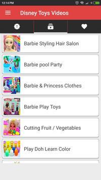 My Disney Doll And Toys Videos screenshot 1