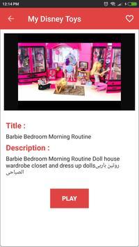 My Disney Doll And Toys Videos screenshot 3