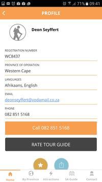 SA Tourist Guide Directory apk screenshot