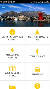 South African Travel Guide poster