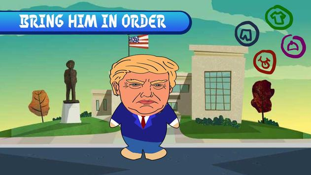Dress Trump in President screenshot 1