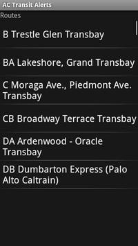 AC Transit Alerts screenshot 1