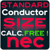 NEC Conductor Size Calc FREE-icoon