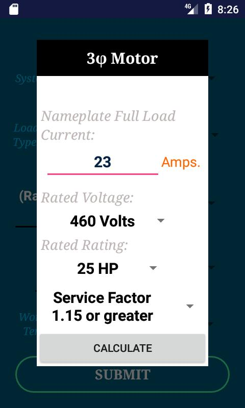 Nec conductor size calc free for android apk download nec conductor size calc free screenshot 2 keyboard keysfo Choice Image