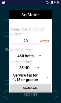 NEC Conductor Size Calc FREE screenshot 2