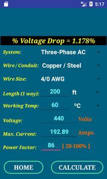 NEC Conductor Size Calc FREE screenshot 5