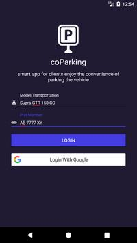coParking : Smart Parking poster