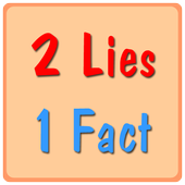 2 Lies 1 Fact icon
