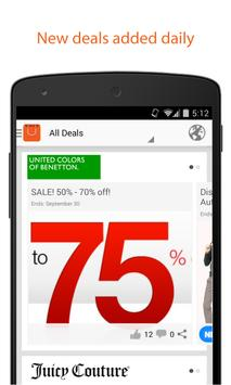 Nearbuy - Shopping mall deals poster